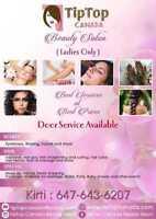Home service Indian / Pakistani Beauty Salon services