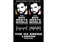 Drake @ The O2 in London Sat 4th Feb