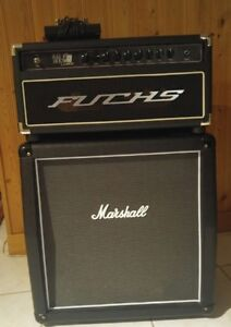 Fuchs Blackjack 21 MK 2 and Marshall bottom