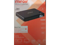 brand new Miroir MP25h Micro Pocket Projector with HDMI £70.00