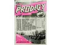 Prodigy tickets x 4 £100 each, standing Plymouth pavilion