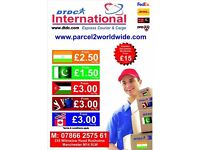 NATIONWIDE COLLECTION FROM £1.50 KG-SEND CARGO/PARCEL/SHIPPING/DOCUMENTS TO INDIA -EUROPE-USA-DUBAI