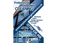 Windows and Solar Panels Cleaning