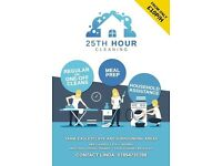25th Hour Cleaning, Domestic assistance serving Yarm, Eaglescliffe, Ingleby and surrounding areas