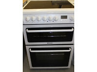 Hotpoint 60cm Electric Cooker (3 Months Guarantee) Free Local Delivery