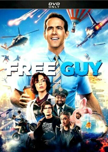 Free Guy [DVD] [2021]*** NEW*** FREE SHIPPING!!!