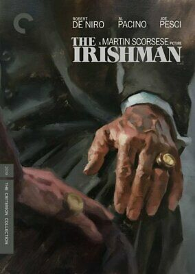 THE IRISHMAN Criterion Collection DVD - 2 Disc Set - Brand New - Free Shipping