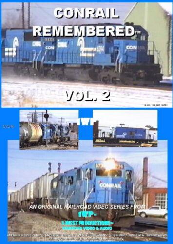 CONRAIL REMEMBERED VOL. 2 Railroad Train DVD Video CR