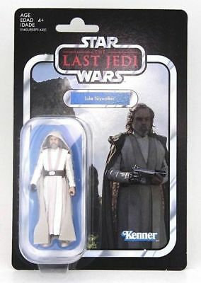 Star Wars The Vintage Collection Jedi Master Luke Skywalker 3 3/4-Inch  In Stock