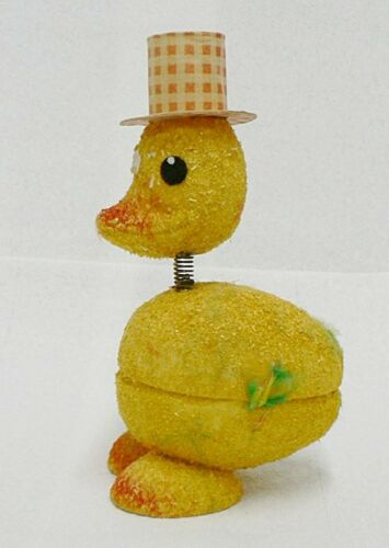 FUZZLE PAPER DUCK EASTER CANDY HOLDER