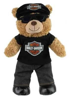 "Harley-Davidson® 16"" Plush Biker Bear - 9950027"