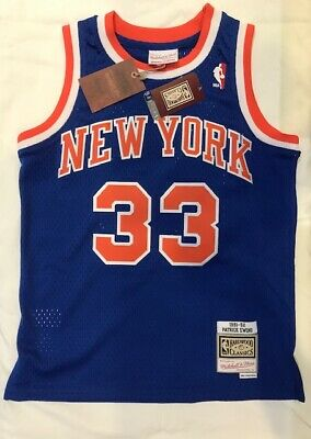 Patrick Ewing New York Knicks Youth Medium Mitchell & Ness Swingman Jersey
