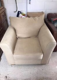 Collins and Hayes Studio/Remus Comfortable Armchair