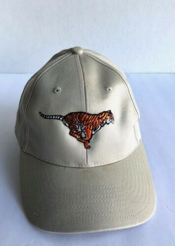 VTG Cap Hat Strapback Trucker Ball Exxon Tiger Gas Oil VG Embroidered