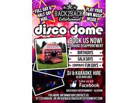 Disco dome bouncy £120