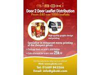 Leaflet Distribution - Croydon, Bromley, Beckenham, Crystal Palace, Streatham, Tooting, Balham