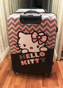 EXTRA  LARGE  HELLO KITTY  SUITCASE  FOR  SALE