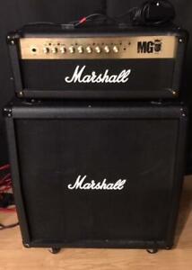 Marshall MG 100 Amp & Cab.