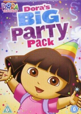 Dora The Explorer Party Ideas (Dora The Explorer Doras Big Party Pack [DVD] 4 DVD Gift set Idea BIG Box NEW)