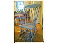 Beautiful rocking chair ⭐🎀💖💜