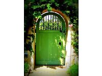 FREE ART DECO GARDEN GATE!! LEEDS AREA NEED TO OFFLOAD URGENTLY
