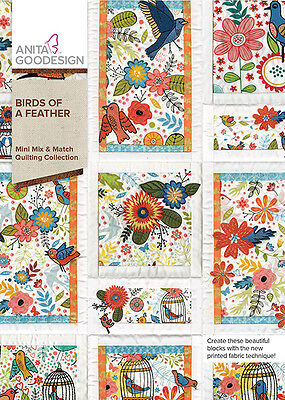Anita Goodesign Embroidery Machine Design CD BIRDS OF A FEATHER