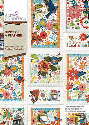 Anita Goodesign Embroidery Machine Design CD BIRDS OF A FEATHER - NEW