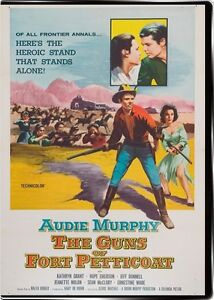 The Guns of Fort Petticoat 1957 DVD Audie Murphy, Kathryn Grant, Hope Emerson