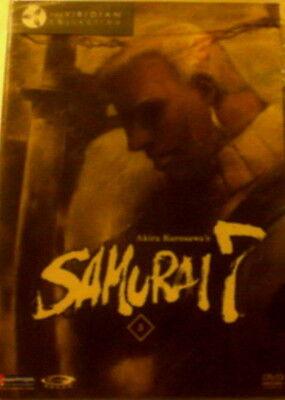 Akira Kurosawa's SAMURAI 7 VOLUME FIVE Four Episodes + Extras Gonzo DVD SEALED
