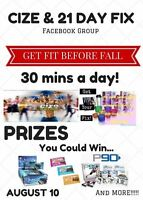 CIZE & 21 Day Fix Accountability Group!