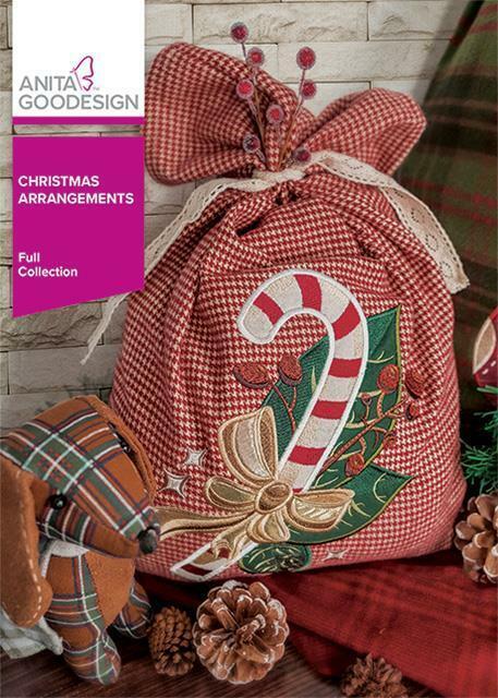 Christmas Arrangements Anita Goodesign Embroidery Design Machine CD