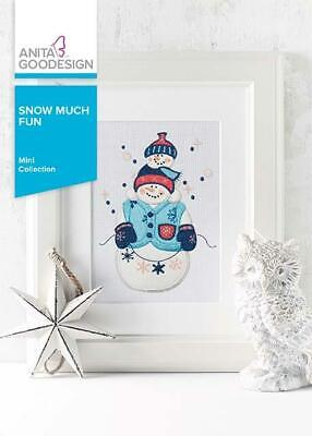 Snow Much Fun Anita Goodesign Embroidery Machine Design CD -