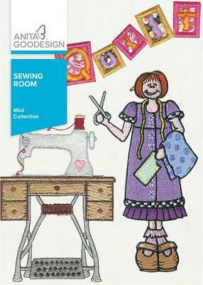 Sewing Room Anita Goodesign Embroidery Machine Design CD Embroidery Designs Sewing Machines