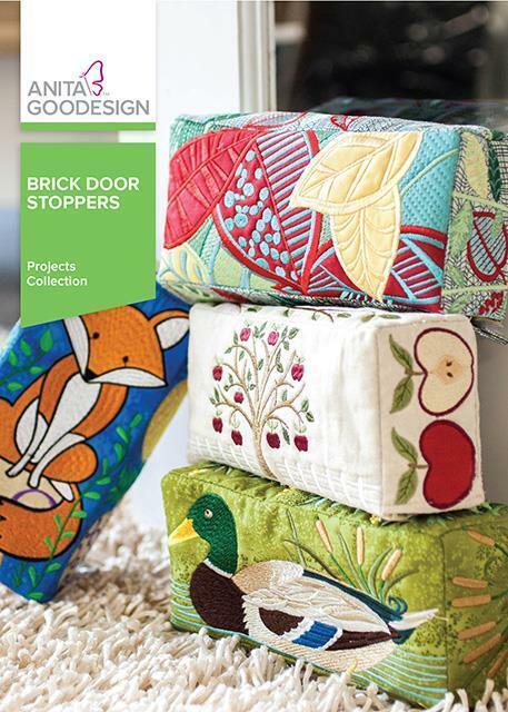 Brick Door Stoppers Anita Goodesign Embroidery Machine Design CD NEW