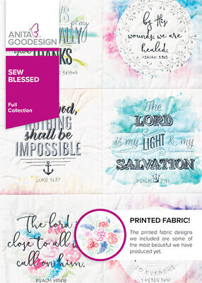 Sew Blessed Anita Goodesign Embroidery Design Machine CD  Embroidery Designs Sewing Machines
