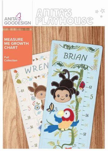 Anita Goodesign Measure Me Growth Chart  NEW