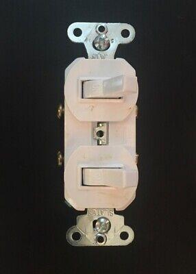 Legrand White Two Toggle Switch 690-wgcc6 15a 1p 120277vac Free Shipping