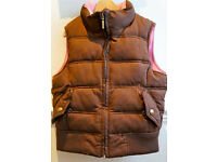 Brown puffer jacket from GAP (age 8-9)