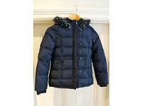 Padded blue jacket (age 9-10)