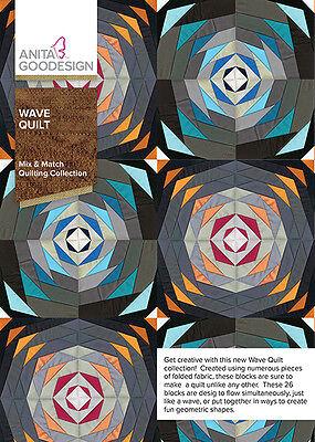 Anita Goodesign Embroidery Machine Design CD WAVE QUILT