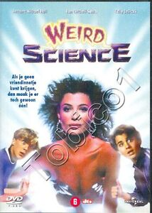 WEIRD-SCIENCE-DVD-SEALED-KELLY-LeBROCK-ANTHONY-MICHAEL-HALL