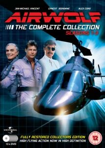 Airwolf - The Complete Collection:Seasons 1-3 - 13 DVD Set [DVD], 5030697026750.