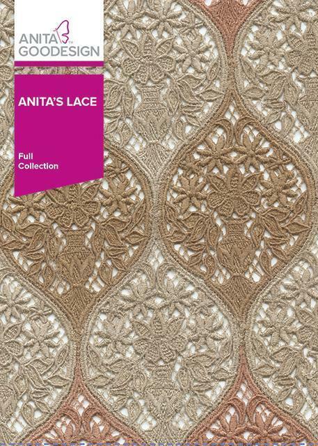 Anita's Lace Anita Goodesign Embroidery Machine Design CD NEW