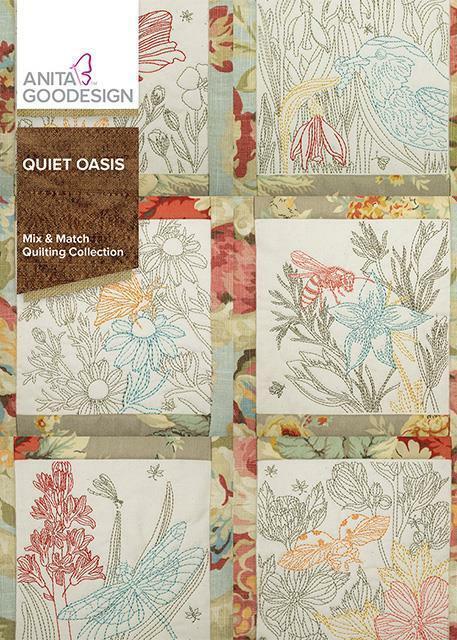 Quiet Oasis Anita Goodesign Embroidery Design Machine CD