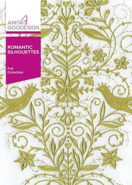 Romantic Silhouettes Anita Goodesign Embroidery Design Machine CD