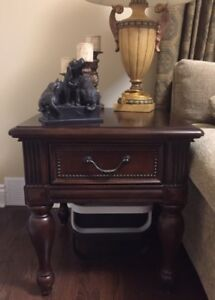 "2 night tables mint condition W24"" D28"" H25"" ,$300 Each"