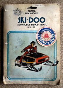 SKI-DOO 1970-1977 SERVICE,REPAIR MANUAL-reduced