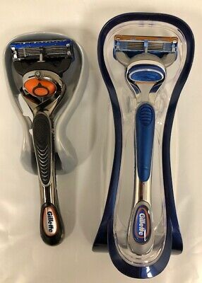 Gillette Fusion5 & Proglide Men's Razors Handle+1 Blades  *Free Shipping*, used for sale  Morganville