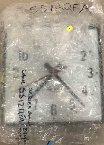 Vintage Lathem SS12QFA Wall Clock