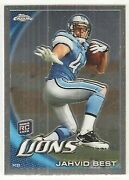 2010 Topps Chrome Jahvid Best
